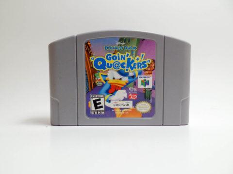 Donald Duck Goin Quackers (Nintendo 64)