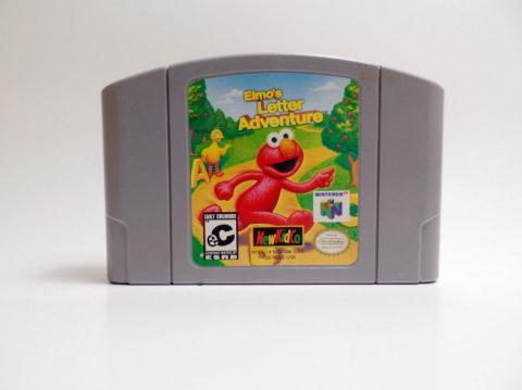 Elmos Letter Adventure (Nintendo 64)