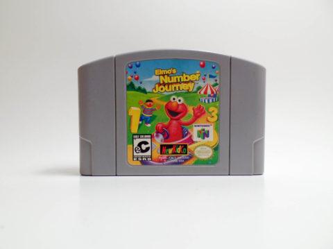 Elmos Number Journey (Nintendo 64)