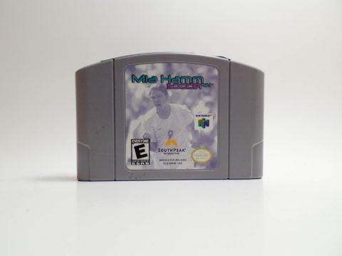 Mia Hamm Soccer 64 (Nintendo 64)