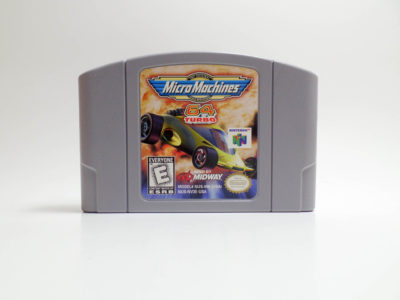 Micro Machines 64 Turbo (Nintendo 64)