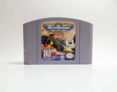 Micro Machines 64 Turbo (Nintendo 64)