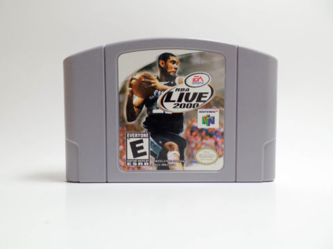 NBA Live 2000 (Nintendo 64)