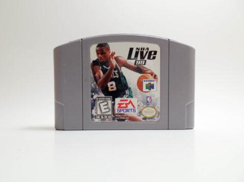 NBA Live 99 (Nintendo 64)