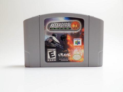 Asteroids Hyper 64 (Nintendo 64)