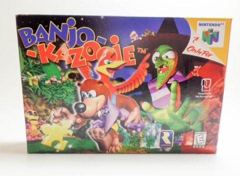 Banjo-Kazooie – Box (Nintendo 64)