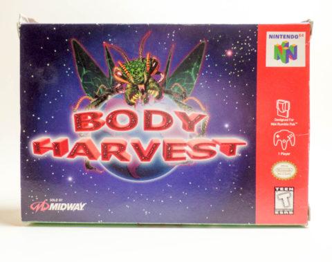 Body Harvest – Box (Nintendo 64)