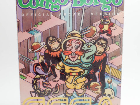 Congo Bongo – Box (Intellivision)