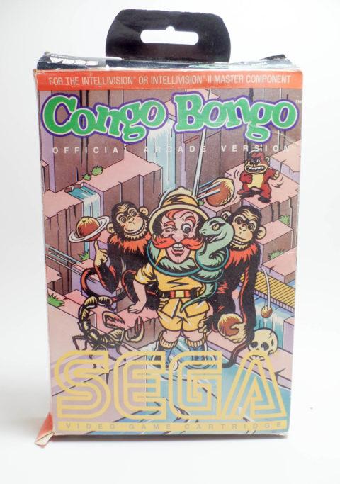 Congo Bongo – Box (Intellivision)