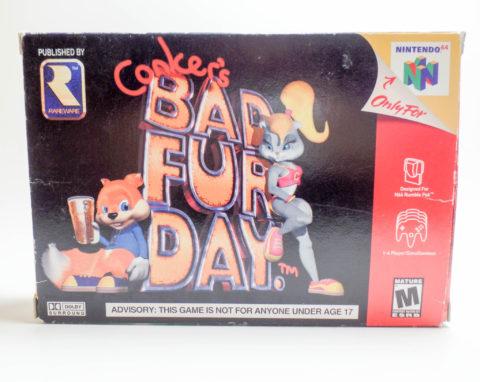 Conkers Bad Fur Day – Box (Nintendo 64)