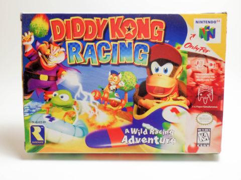 Diddy Kong Racing – Box (Nintendo 64)
