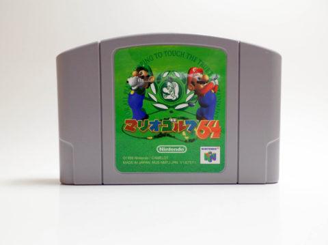 Mario Golf 64 – Japan Cart (Nintendo 64)