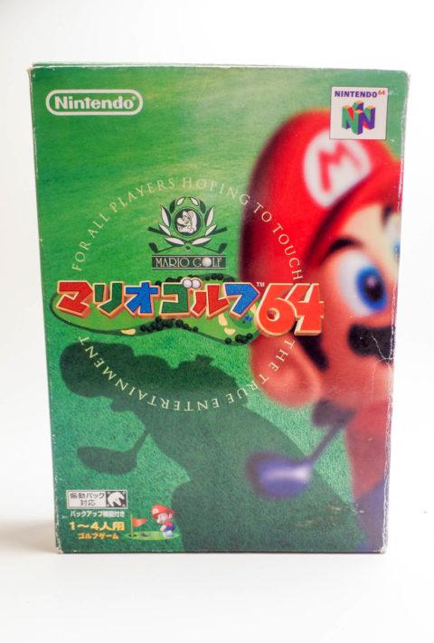 Mario Golf 64 – Japan Box (Nintendo 64)