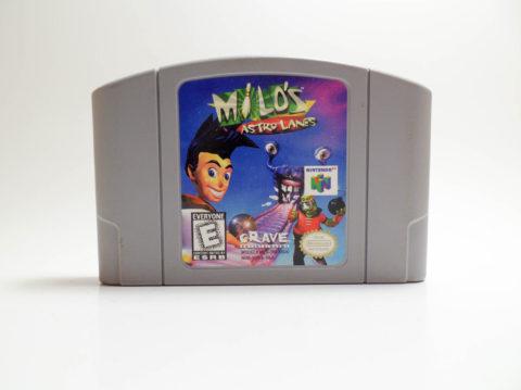 Milos Astro Lanes (Nintendo 64)