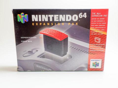 N64 Expansion Pak – Box (Nintendo 64)