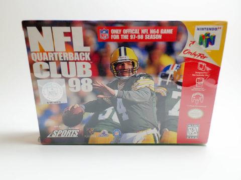 NFL Quarterback Club 98 – Sealed (Nintendo 64)
