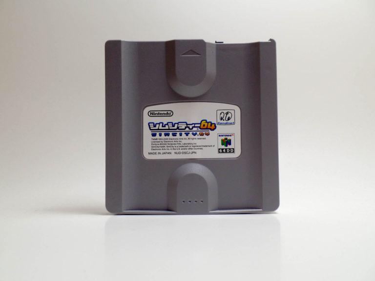 Sim City 64 (Nintendo 64 DD)