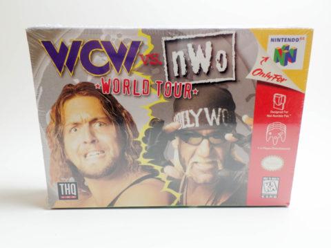 WCW vs NWO – World Tour – Sealed (Nintendo 64)
