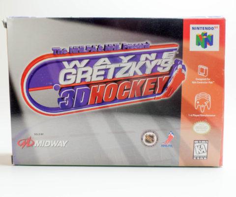 Wayne Gretzkys 3D Hockey – Box (Nintendo 64)
