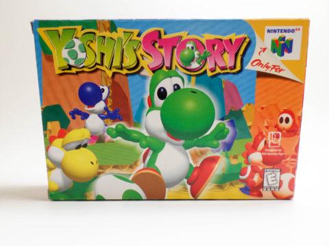 Yoshis Story – Box (Nintendo 64)