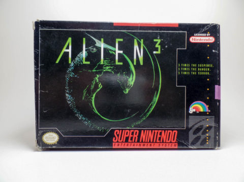 Alien 3 – Box (Super Nintendo)