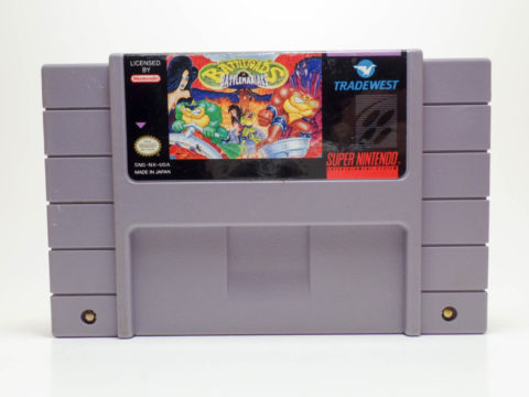 Battletoads in Battlemaniacs (Super Nintendo)