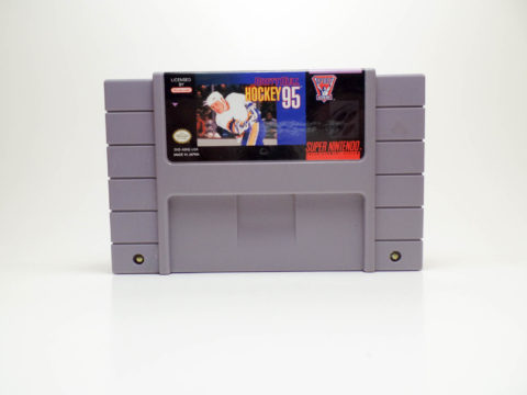 Brett Hull Hockey 95 (Super Nintendo)