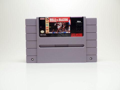 Bulls vs Blazers (Super Nintendo)