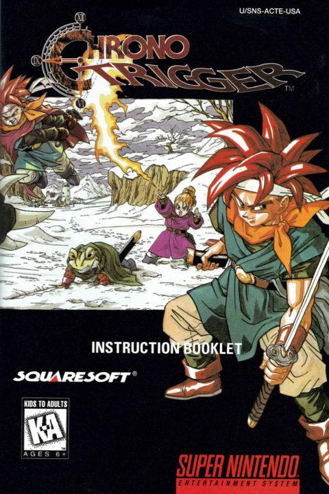 Chrono Trigger (SNES Manual)