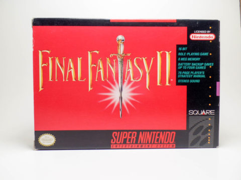 Final Fantasy II – Box (Super Nintendo)