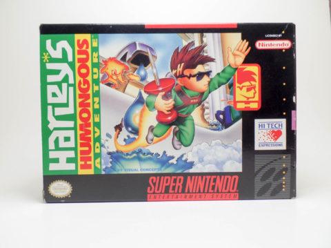 Harley's Humongous Adventure – Box (Super Nintendo)