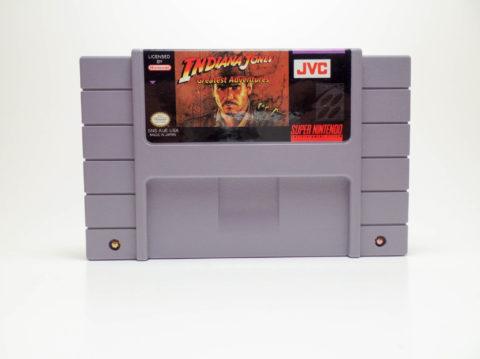Indiana Jones Greatest Adventures (Super Nintendo)