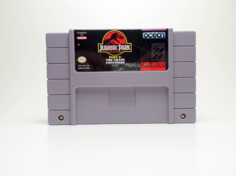 Jurassic Park – The Chaos Continues (Super Nintendo)