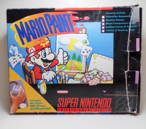 Mario Paint – Box (Super Nintendo)