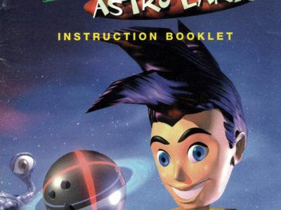 Milos Astro Lanes (N64 Manual)