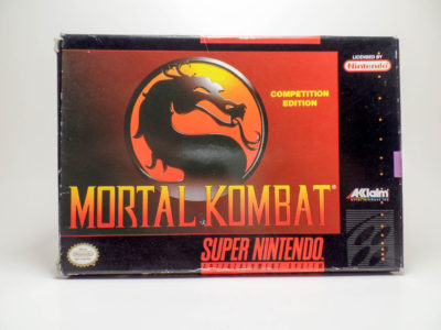 Mortal Kombat – Box (Super Nintendo)