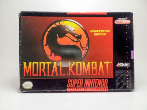 Mortal Kombat – Box (Super Nintendo)