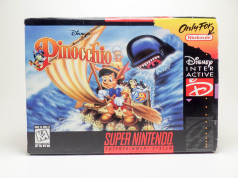 Pinocchio – Box (Super Nintendo)
