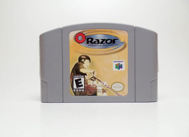 Razor Freestyle Scooter (Nintendo 64)