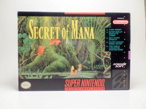 Secret of Mana – Box (Super Nintendo)