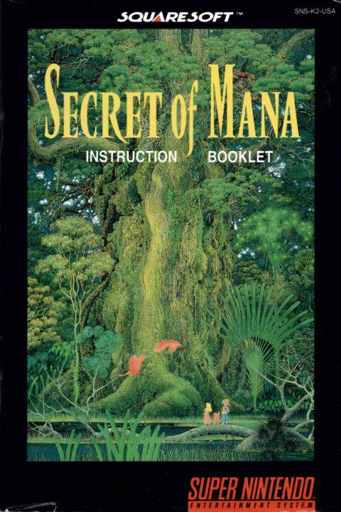 Secret of Mana (SNES Manual)