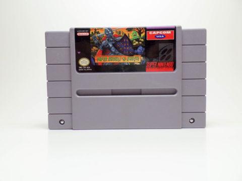Super Ghouls n Ghosts (Super Nintendo)
