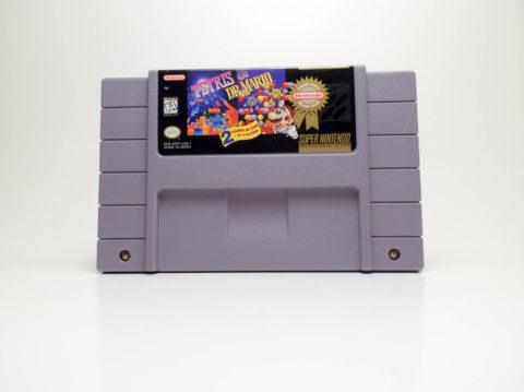 Tetris & Dr Mario (Super Nintendo)