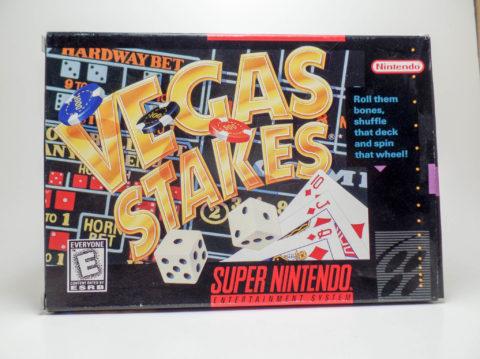 Vegas Stakes – Box (Super Nintendo)