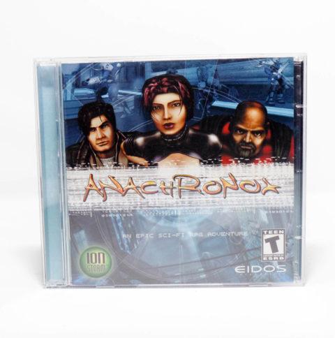 Anachronox – Jewel Case