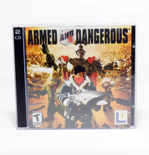 Armed and Dangerous – Jewel Case