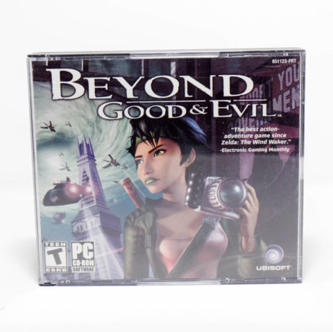 Beyond Good And Evil – Jewel Case