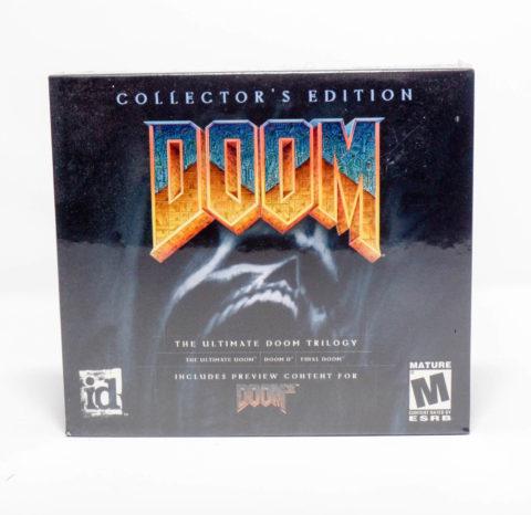 Doom Trilogy – Jewel Case