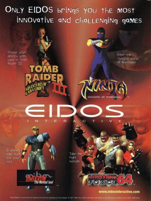 Eidos Interactive Ad