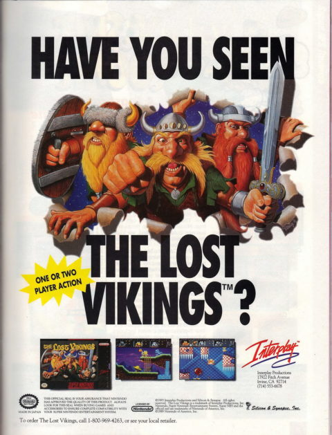 Lost Vikings SNES